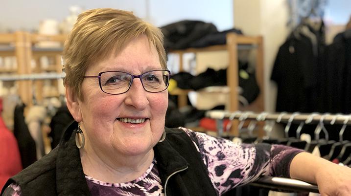 Lillemor Larsson, ny ordförande i Röda Korset Hammarö.