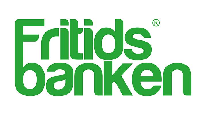 Fritidsbankens logo.