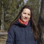 Therese Weng som driver Familjehjälpen Hammarö.
