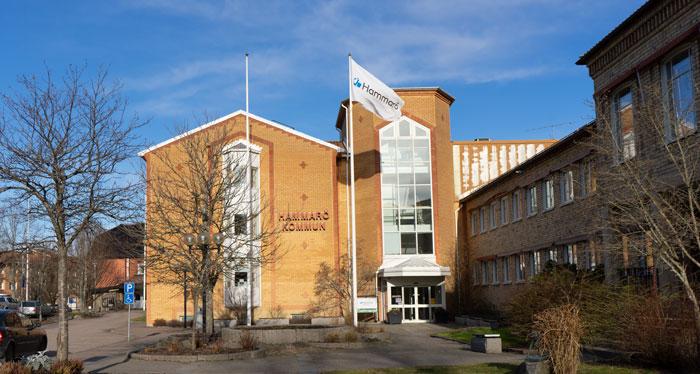 Kommunalhuset i Hammarö kommun ser ut så här.