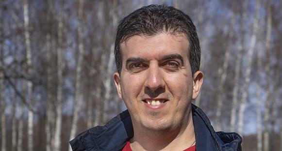 Gürkan Tasemir, innehavare av Pizzeria City.