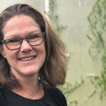 Vår odlarexpert Michaela Gråbergs.