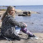 Här på Räggårdsviken finner Linnéa ro och fotomotiv.