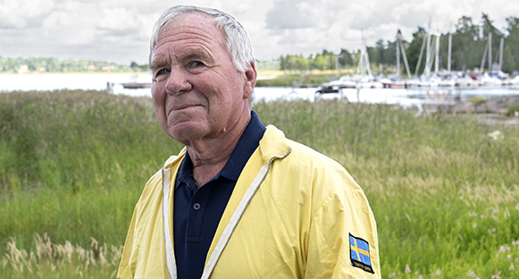 Bernt Andersson, en levande legend.